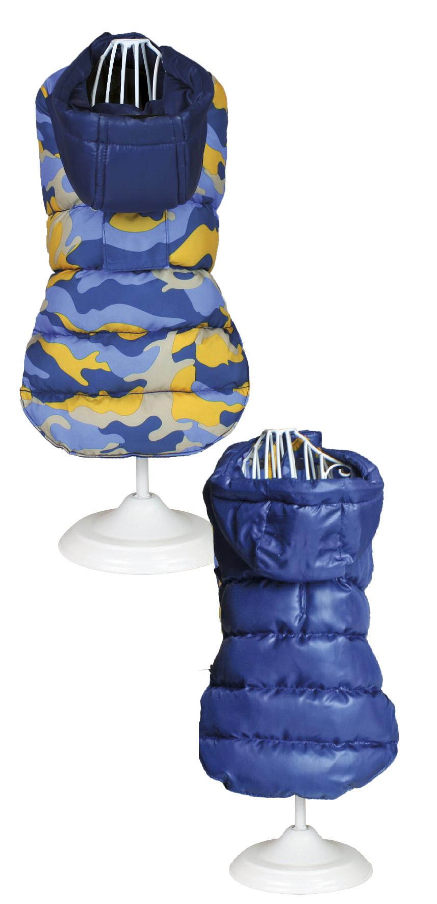 Croci camouflage blauw