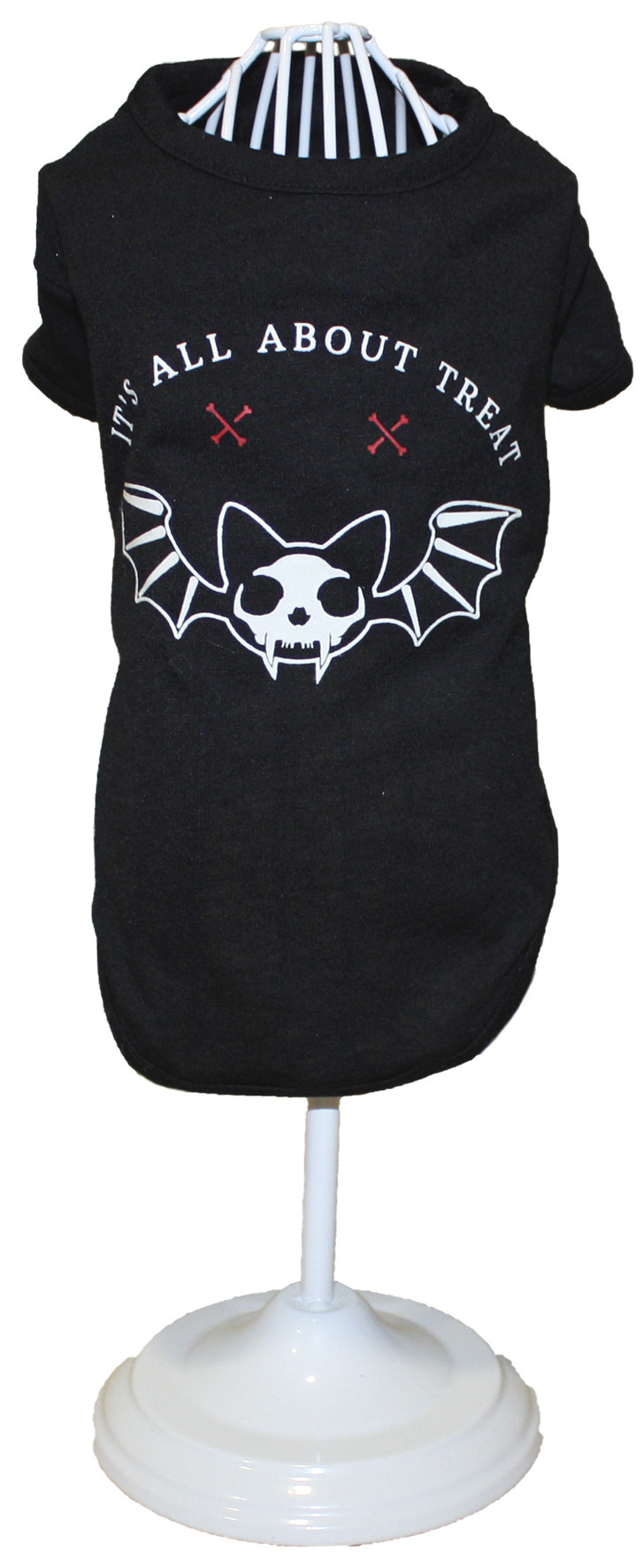 Croci t-shirt skull bat