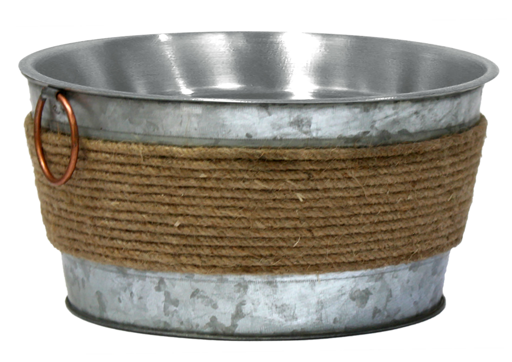 Croci steel bowl met inox