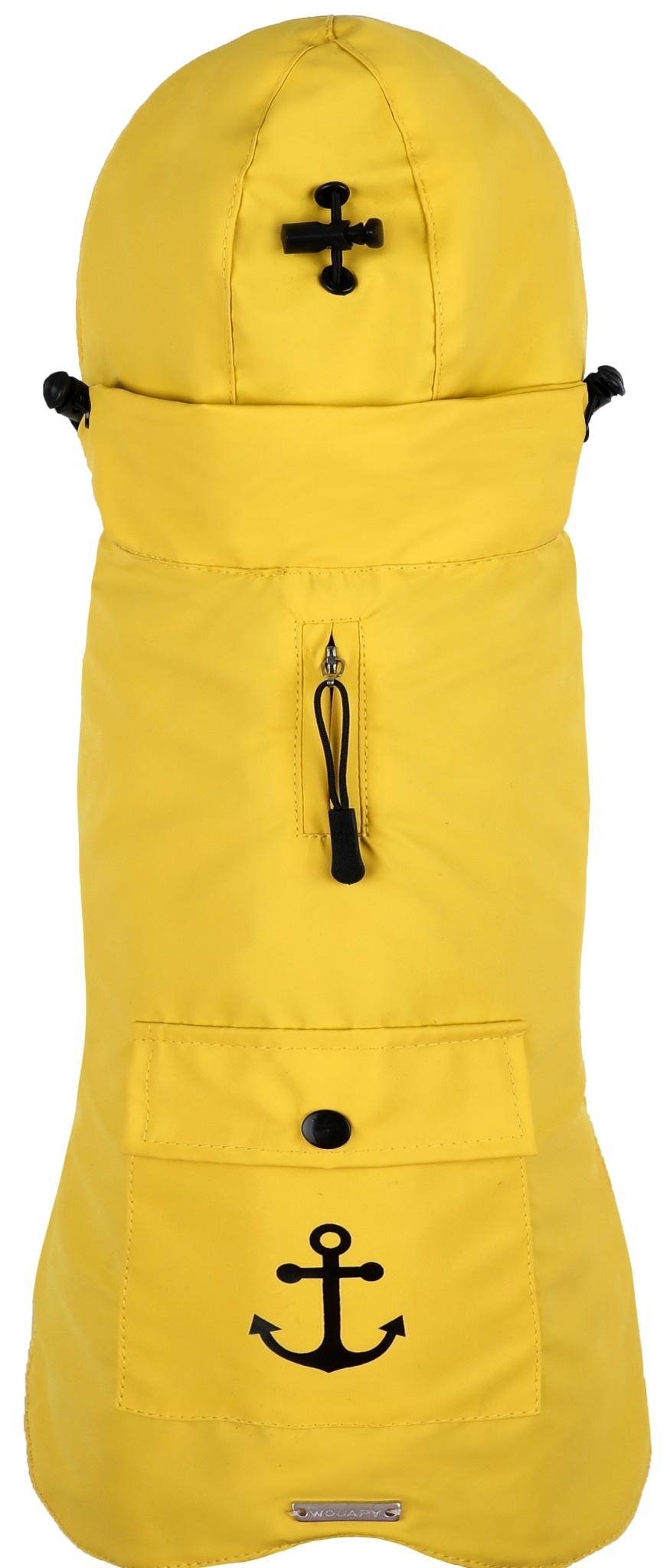 wouapy oilskin ciré yellow