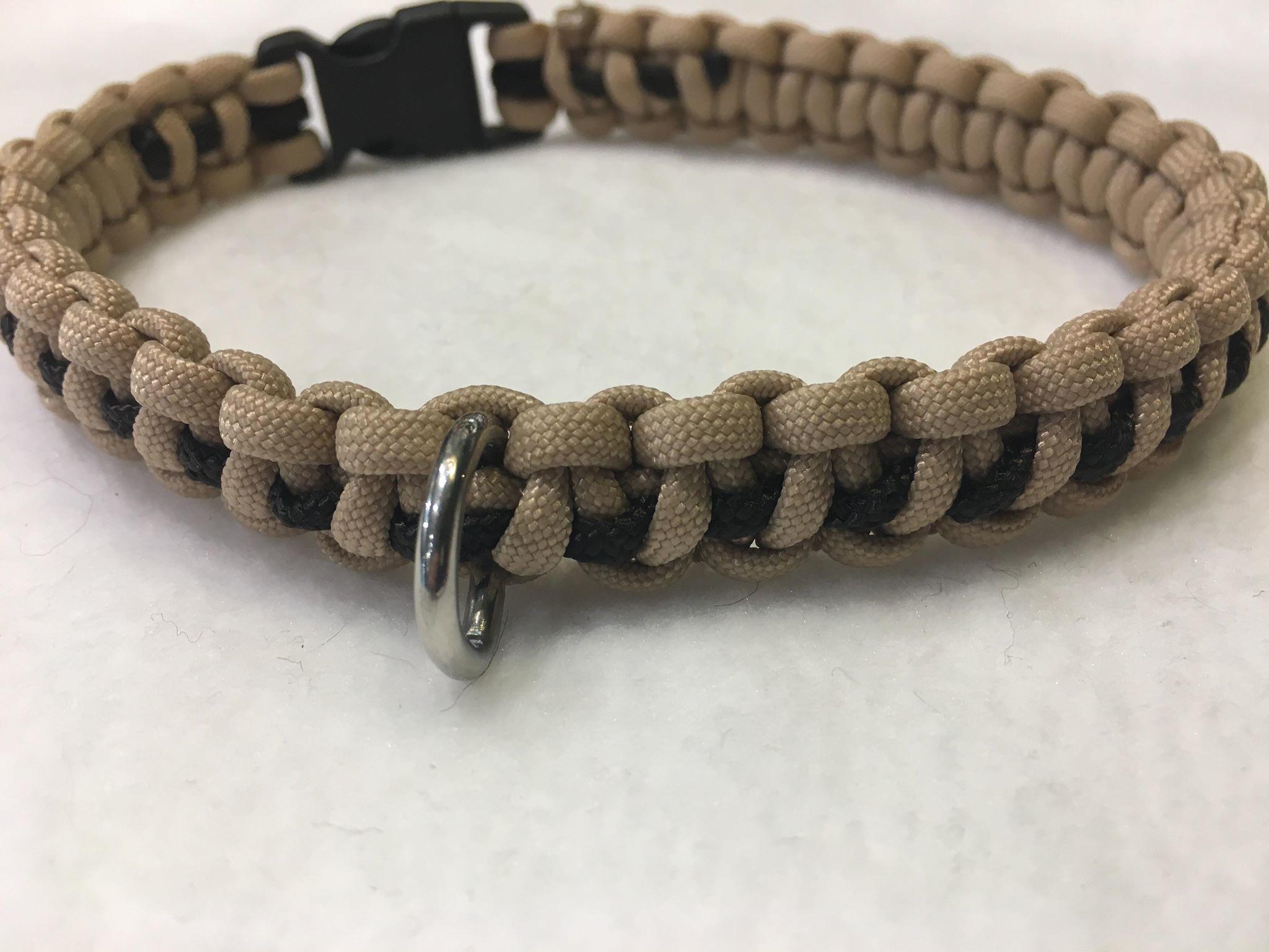 Snoef halsband dikke draad cobra
