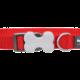Red dingo Halsband red