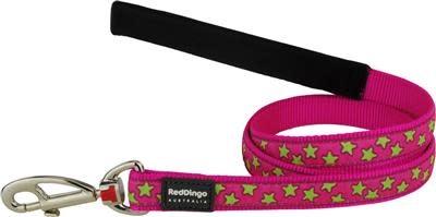 Red dingo lijn star pink L 25mm