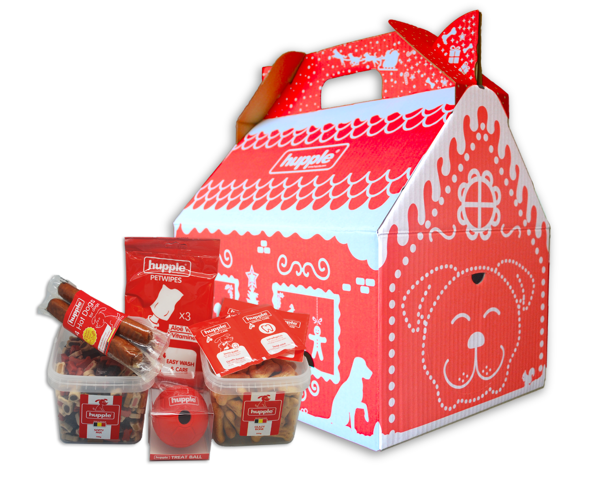 Hupple hupple kerst box
