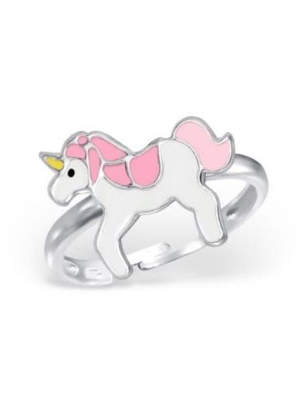 Eenhoorn ring roze