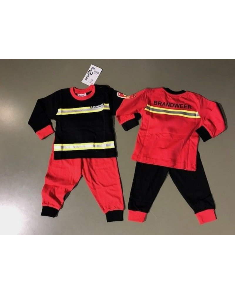 fun2wear Brandweer pyjama baby