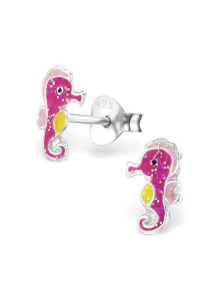 Zilveren oorbellen zeepaardjes
