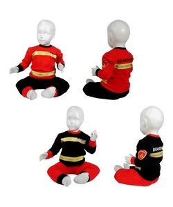 Brandweer pyjama baby