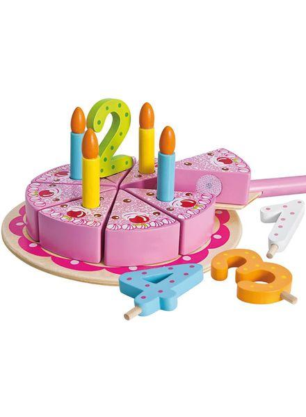 Verjaardagstaart hout