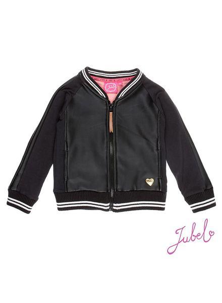 Jubel Vest uni + fake leather Jubel
