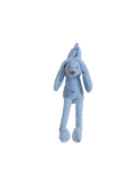 Happy Horse Konijn knuffel blauw muziek