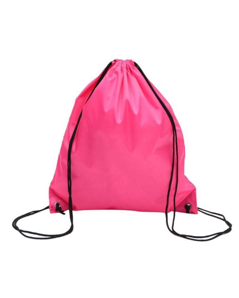 Gym tas roze met naam