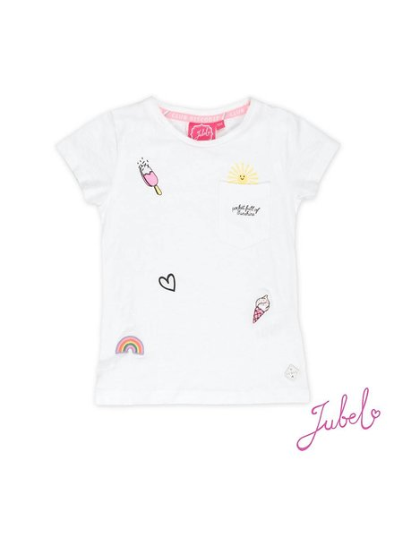 Jubel T-shirt AOP/Pocket Discodip Jubel