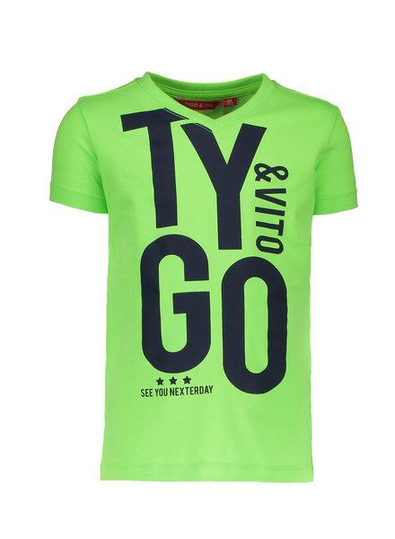 T-shirt groen (6446) T&V