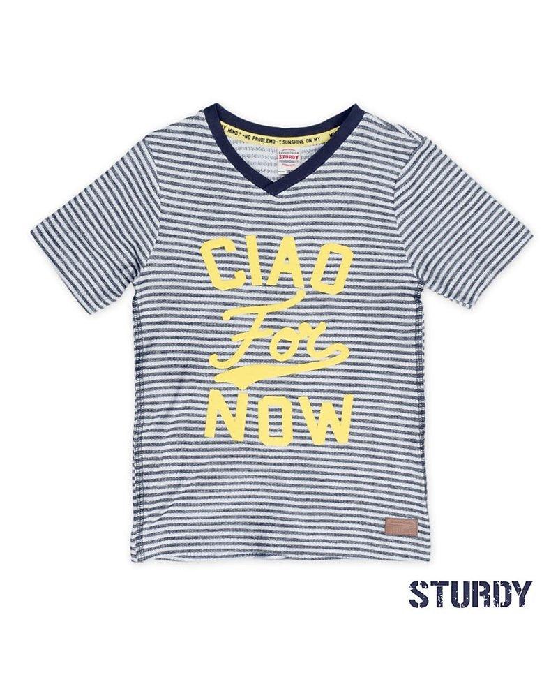 Sturdy T-shirt streep Sturdy