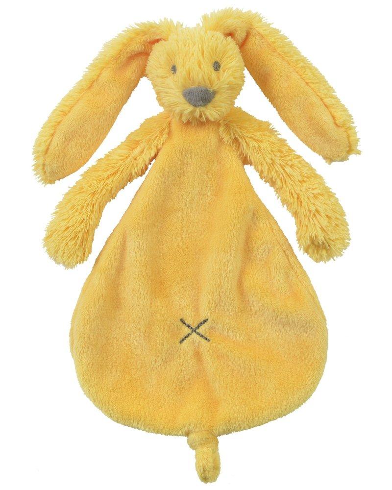 Happy Horse Konijn knuffeldoek geel