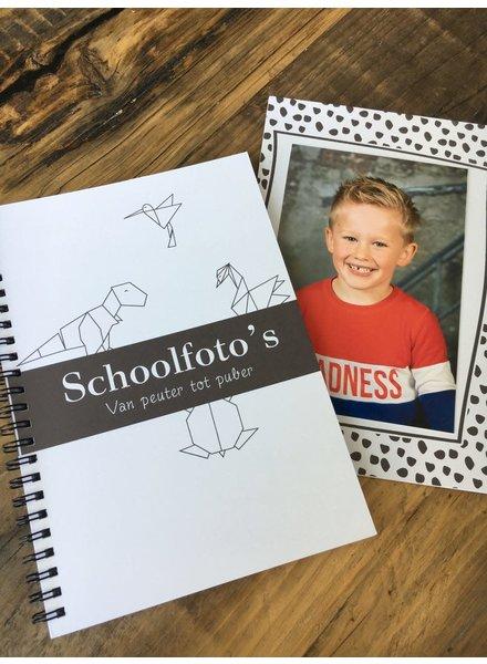 Schoolfoto boek