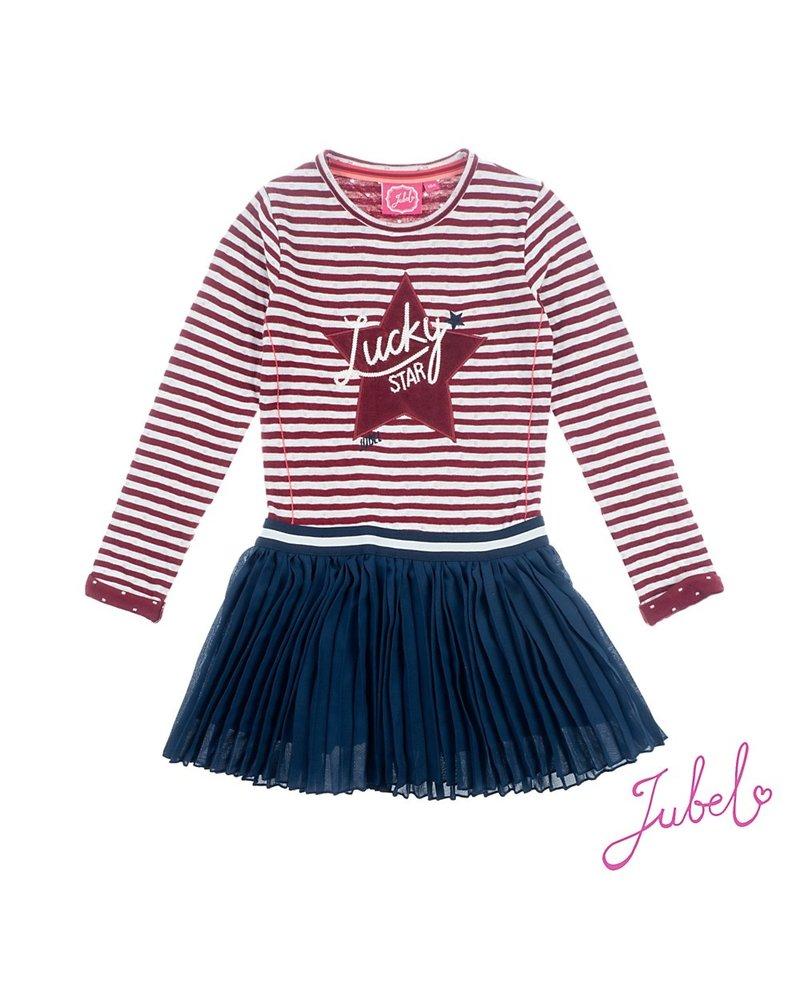 Jubel Jurk streep - Lucky Star Jubel