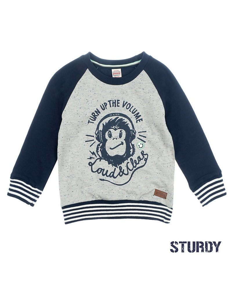 Sturdy Sweater Turn Up - Tuning Vibes Sturdy