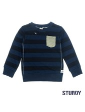 Sturdy Sweater streep - Tuning Vibes Sturdy