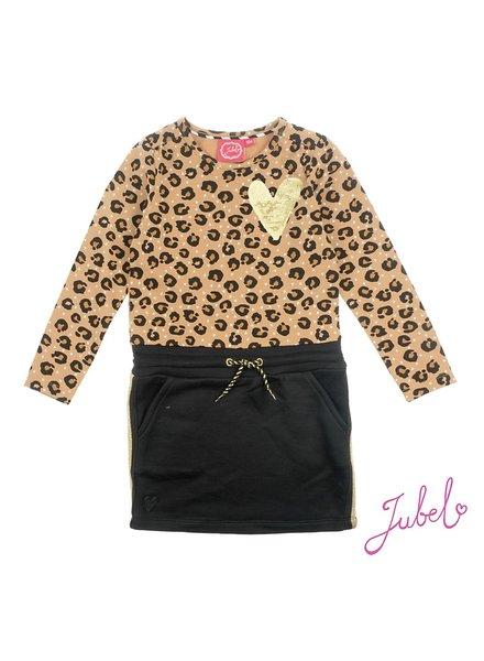 Jubel Jurk AOP - Leopard Lipstick Jubel