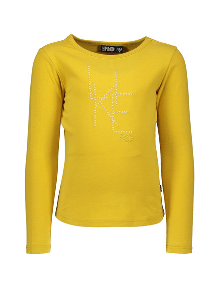 Like Flo Flo girls jersey ls tee LIKE FLO oker