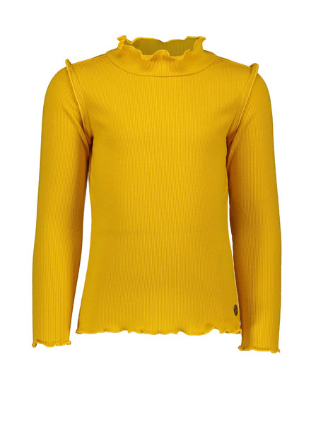 Like Flo Flo girls rib ls turtle neck