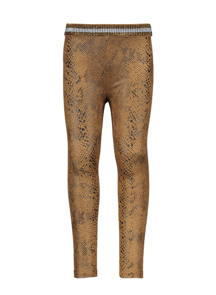 Like Flo Flo girls suede snake legging