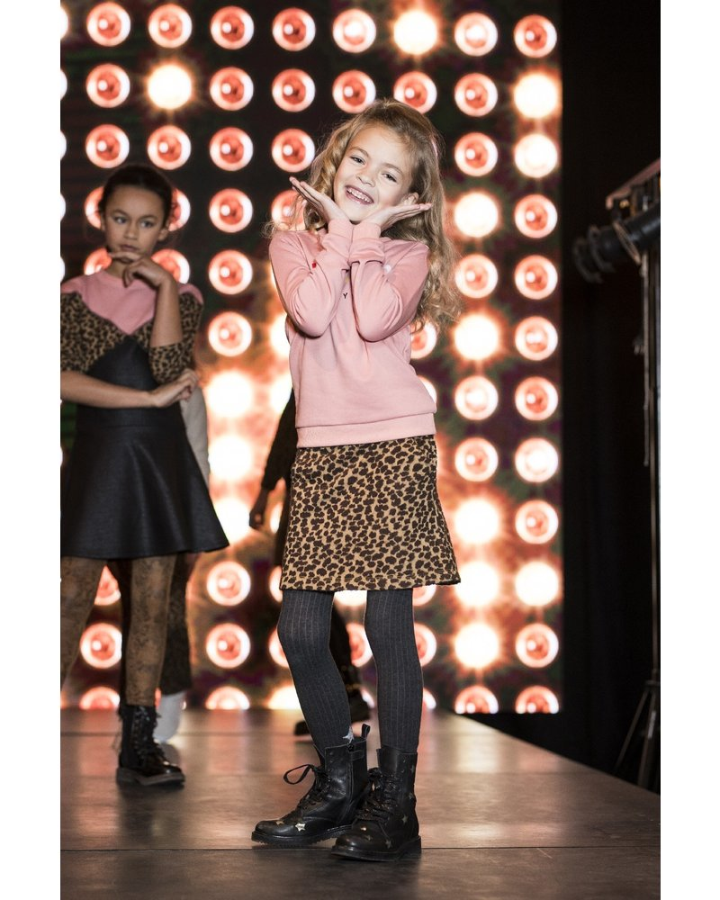 Like Flo Flo girls dot jacquard skirt