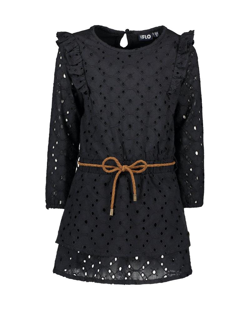Like Flo Flo girls fancy embroidery anglais dress