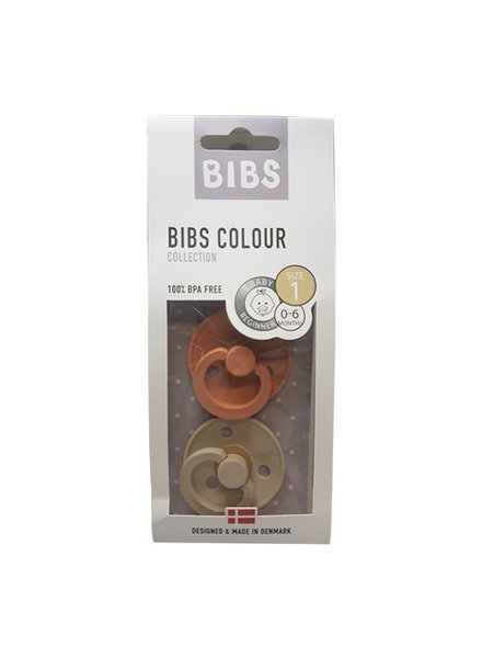 Bibs Set Bibs spenen vanilla/peach