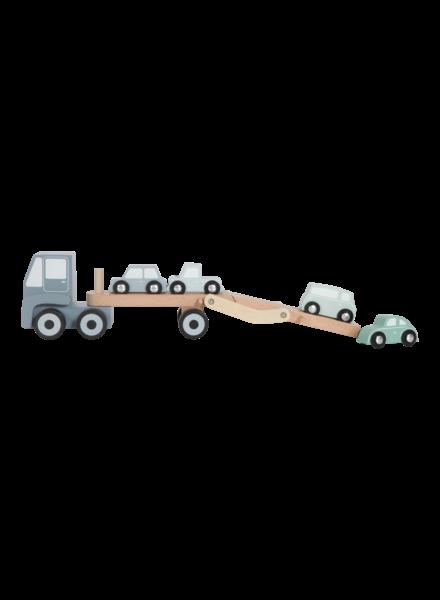 Little Dutch Houten truck transporter