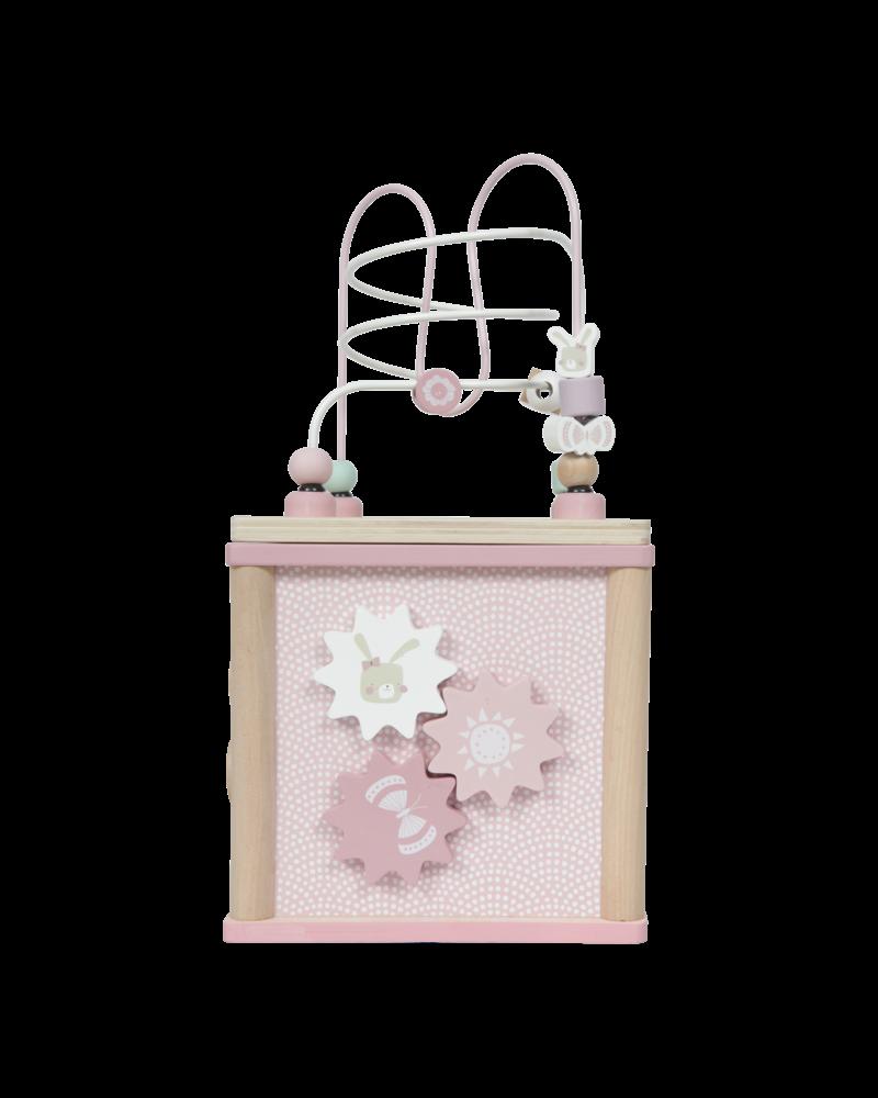 Little Dutch Activiteiten kubus roze