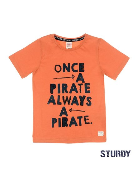 Sturdy T-shirt Once A Pirate - Treasure Hunter