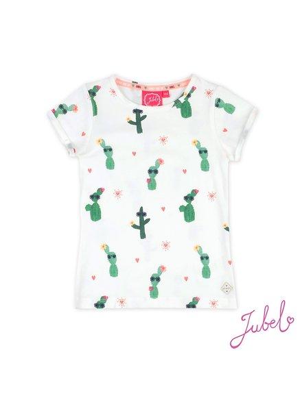 Jubel T-shirt AOP - Botanic Blush