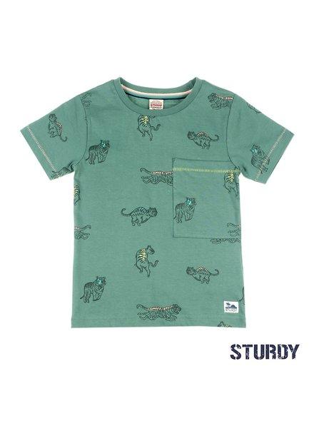 Sturdy T-shirt AOP - Wild Wanderer army