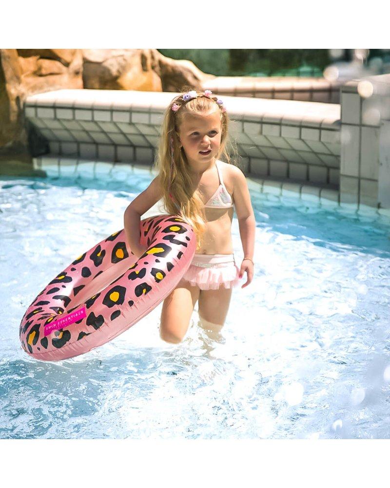 Swim essentials Zwemband luipaard roze 70cm
