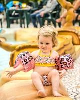 Swim essentials Zwembandjes luipaard 0-2 jr