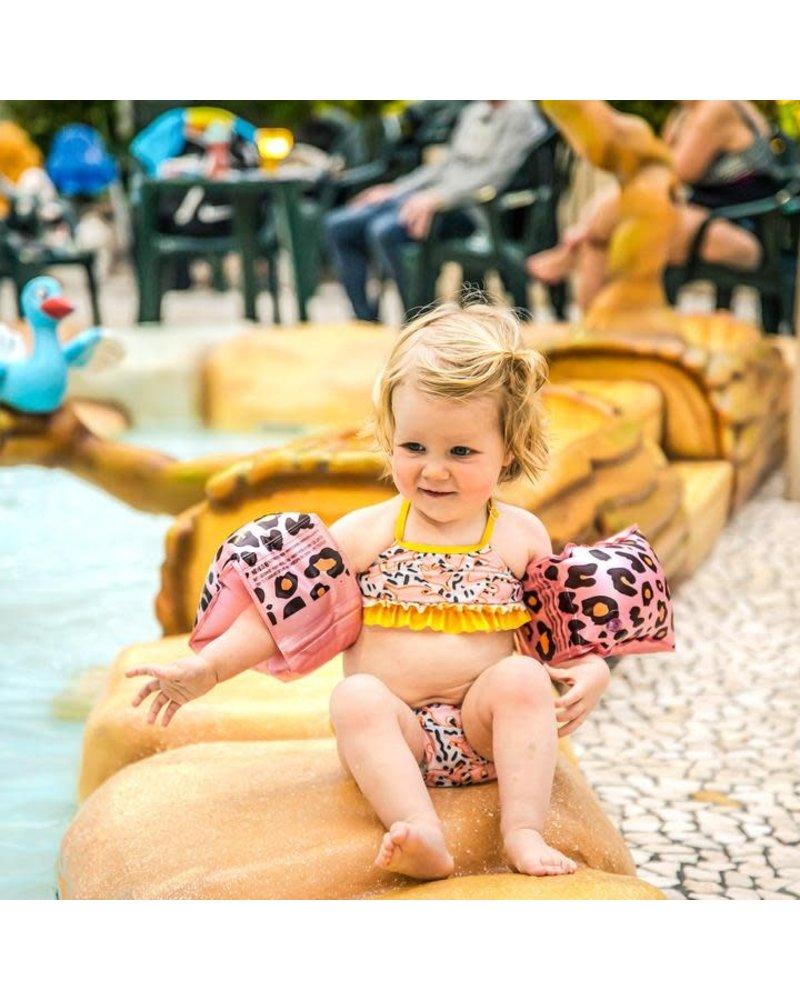 Swim essentials Zwembandjes luipaard 2-6 jr