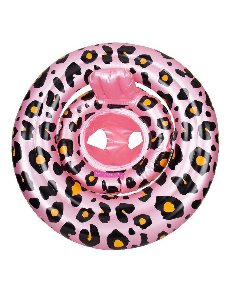 Swim essentials Zwemband luipaard roze 0-12 mnd