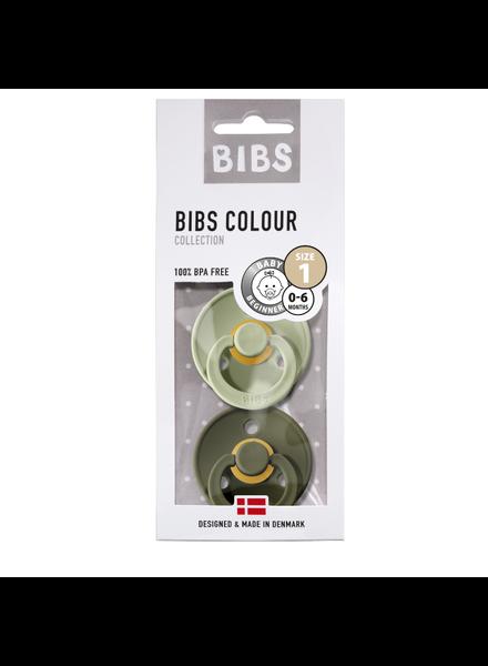 Bibs Set Bibs spenen sage/groen