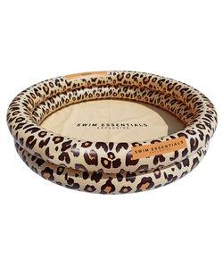 Zwembad leopard beige