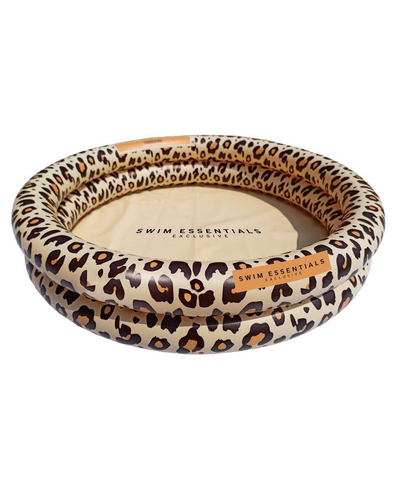 Swim essentials Zwembad leopard beige