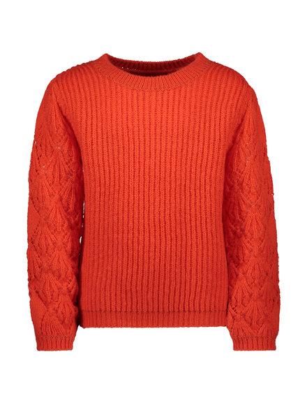 Like Flo Flo girls knitted ajour sweater (5341)