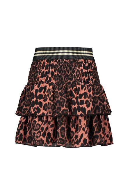 Like Flo Flo girls woven animal smock skirt (5711)