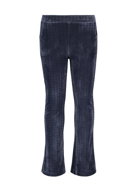 Like Flo Flo girls PDP relief flared pants (5690)