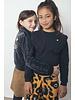 Like Flo Flo girls PDP relief velvet cardigan (5390)