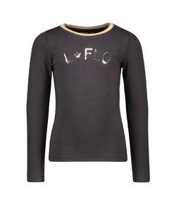 Flo girls jersey ls tee rib neck OH LALALA (5401)
