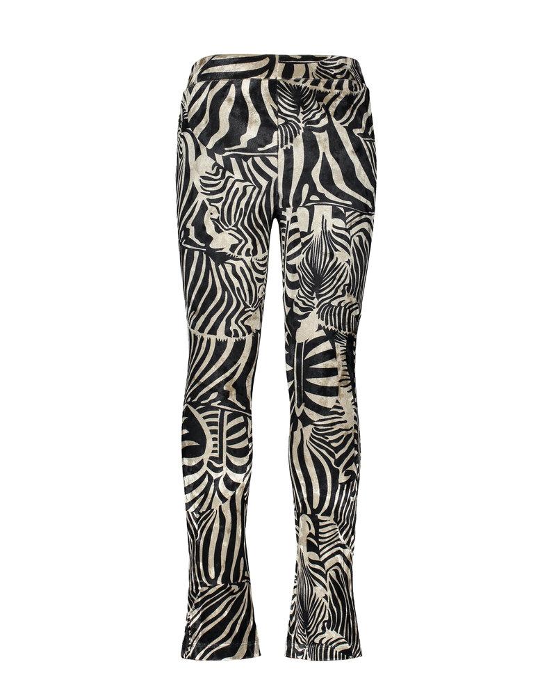Like Flo Flo girls fancy velours flared pant (5660)