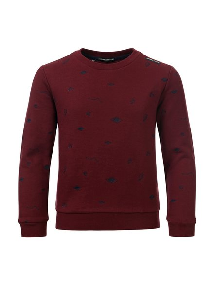 Common Heroes CAS crewneck interlock sw (8309) CH